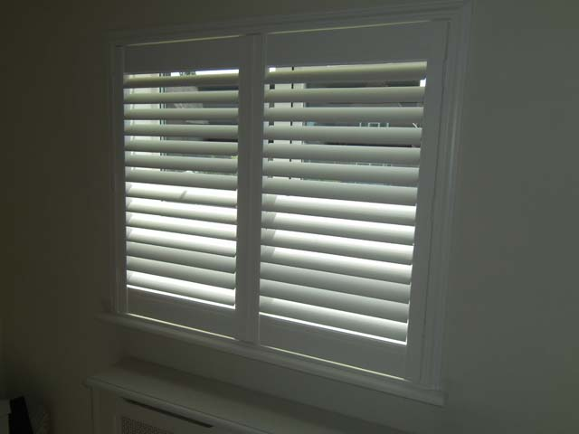 Eclipse Vinyl Plantation Shutters